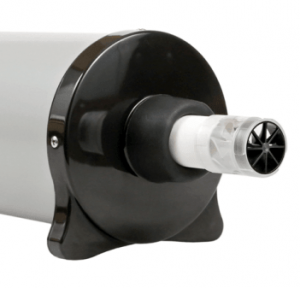 Spirometry Calibration Syringe view from the front